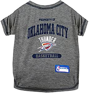Buy Pets First Nba Oklahoma City Thunder Pet Tee Shirt