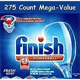 Finish Powerball Dishwashing Detergent - 275 Count (Mega-Value)