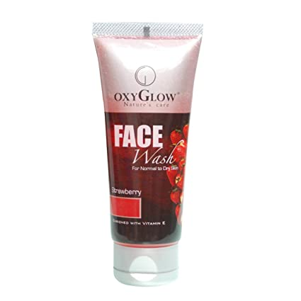 Oxyglow Strawberry Face Wash, 100ml