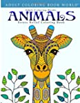 Adult Coloring Books: Animals - Stres...
