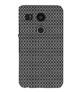EPICCASE black sparkles Mobile Back Case Cover For LG Nexus 5x (Designer Case)
