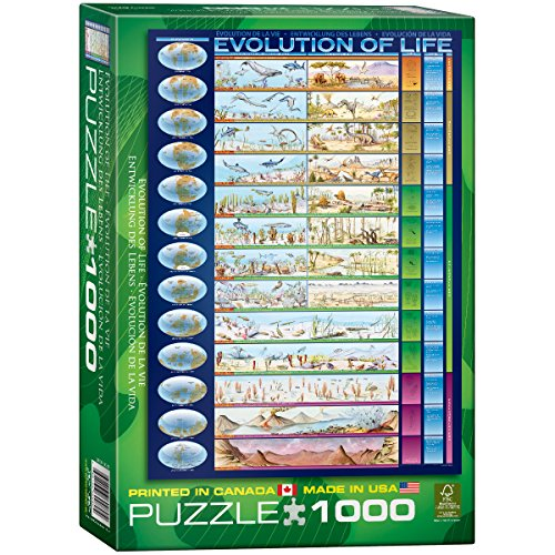 Eurographics Evolution of Life 1000-Piece Puzzle