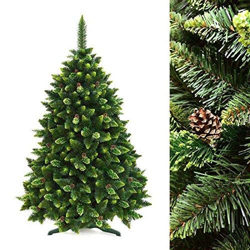 Albero-di-Natale-artificiale-PREMIUM-Bianco-Verde-Novit