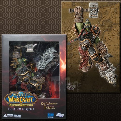 World of Warcraft: Premium Series 2: Orc Warchief: Thrall Action Figure