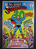 Superman #207, June 1968. 80 Page Giant #G-48. 30th anniversary issue. Neal Adams cover