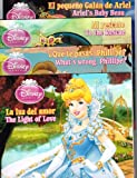 Disney Princess 4-Pack of Story Books in English & Spanish