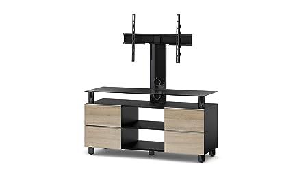 Sonorous TRN3214 B-MOL TV-Möbel fur 50 Zoll Fernseher, Holz, braun, 45 x 120 x 60 cm