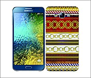 Galaxy Printed 2712 Royalty Chain Regal Hard Cover for Samsung S3 NEO