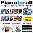 Pianoforall - Apprendre le piano et clavier - PC/Mac/iPad/Android