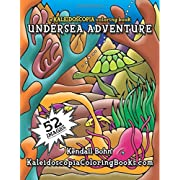 Undersea Adventure: A Kaleidoscopia Coloring Book