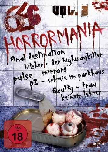 666 - Horrormania Collection Vol. 2 [6 DVDs]