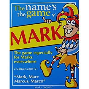 The Name's the Game Mark Game