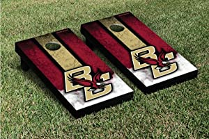Buy Boston College Eagles Cornhole Game Set Vintage Version by Gameday Cornhole