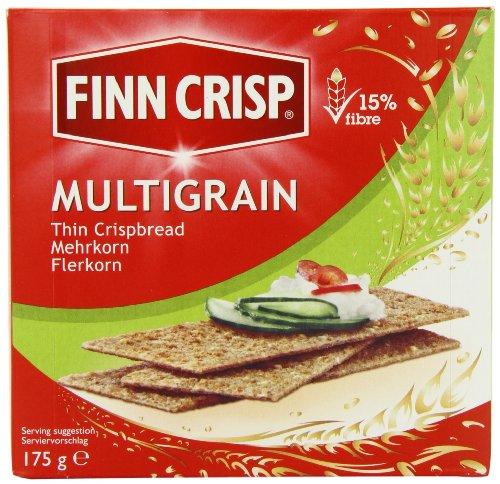 Finn Crisp Thin Crispbread Multigrain 175g (Pack of 9)