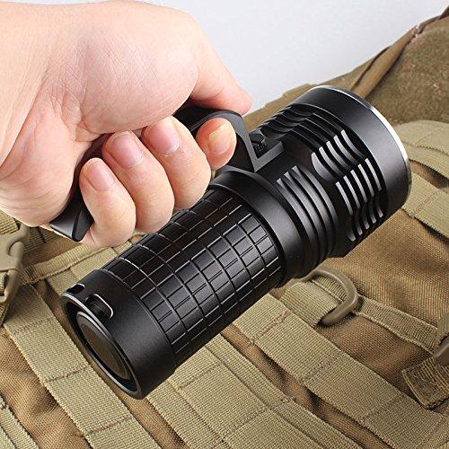 Roche M170 3* Cree Xm-L2 U2-1A 9-Mode 3000-Lumen Led Flashlight