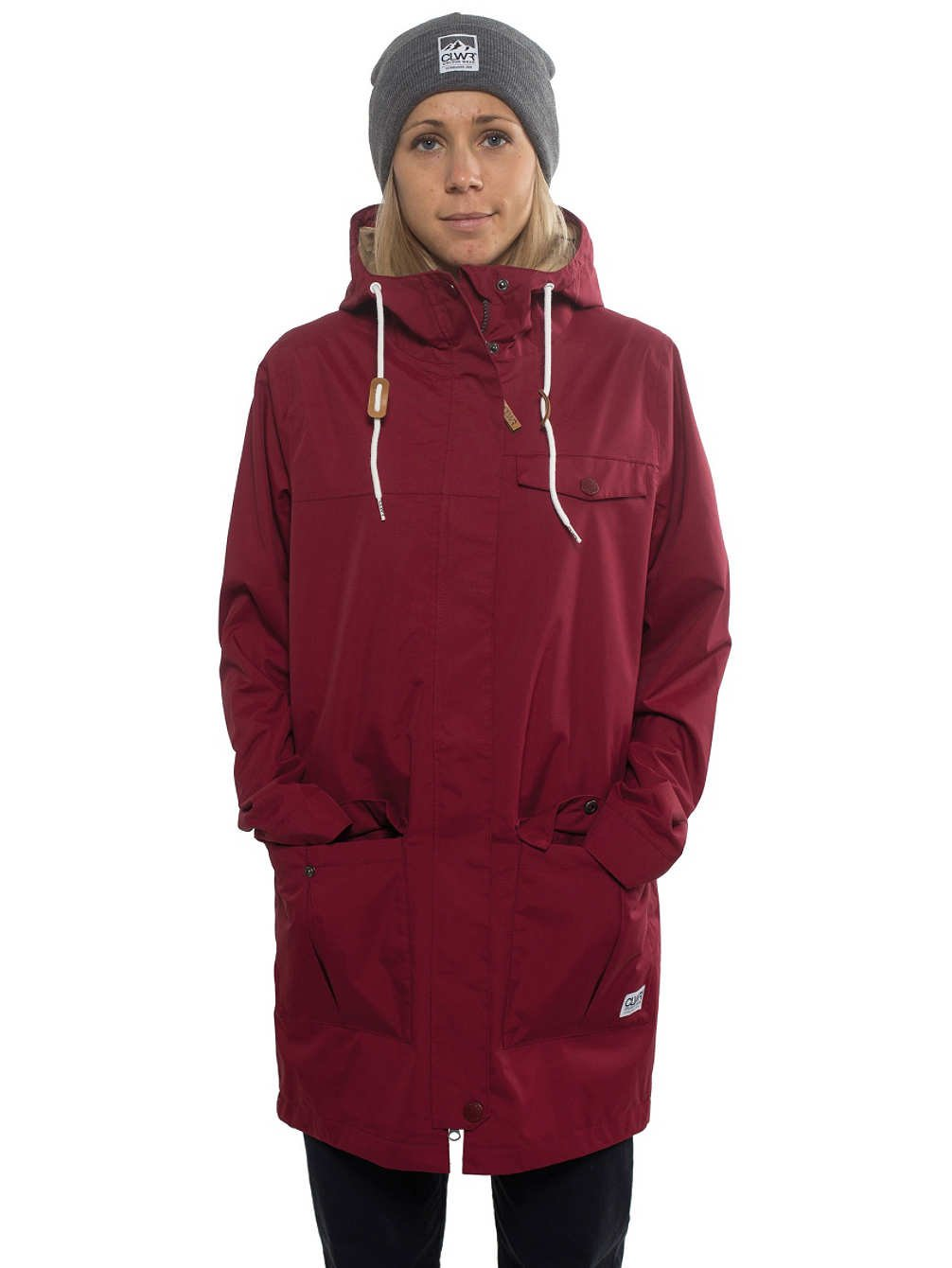 Damen Snowboard Jacke Colour Wear Jetty Parka Jacket