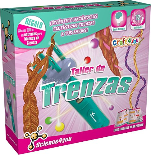 Science4you Taller de trenzas - Juguete científico y educativo