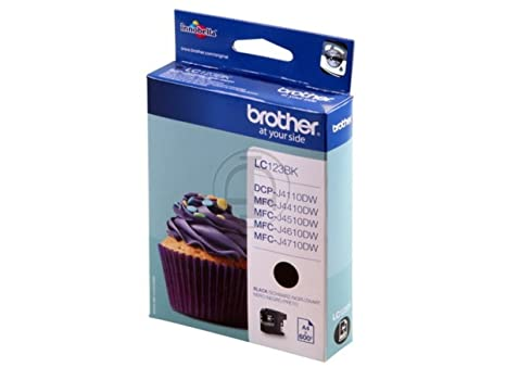Brother DCP-J 4110 W (LC-123 BK) - original - Ink cartridge black - 600 Pages