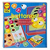 ALEX® Toys - Early Learning Button Art -Little Hands 1408 Children, Kids, Game