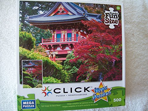 Japanese Tea Garden 500 Piece Puzzle