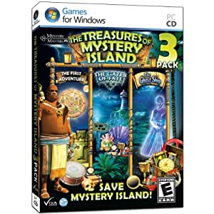 Treasures of Mystery Island 3 Pack - Uncover a Trilogy of Secrets in 3 Thrilling Adventures