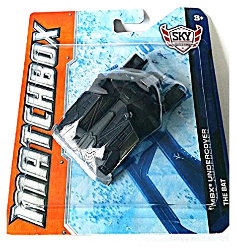 Matchbox Sky Busters MBX Undercover The Bat (Batman The Dark Knight Rises) - 1
