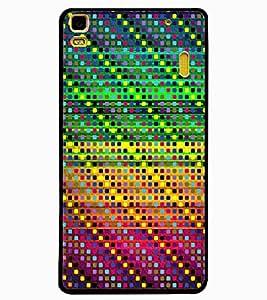 ColourCraft Beautiful Pattern Design Back Case Cover for LENOVO A7000 PLUS