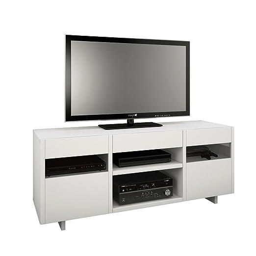 Nexera 102803 Oslo TV Stand, 60-Inch, White