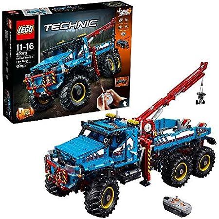 LEGO - 42070 - Lego Technic - Jeu de Construction - La Dépanneuse tout - Terrain 6 x 6