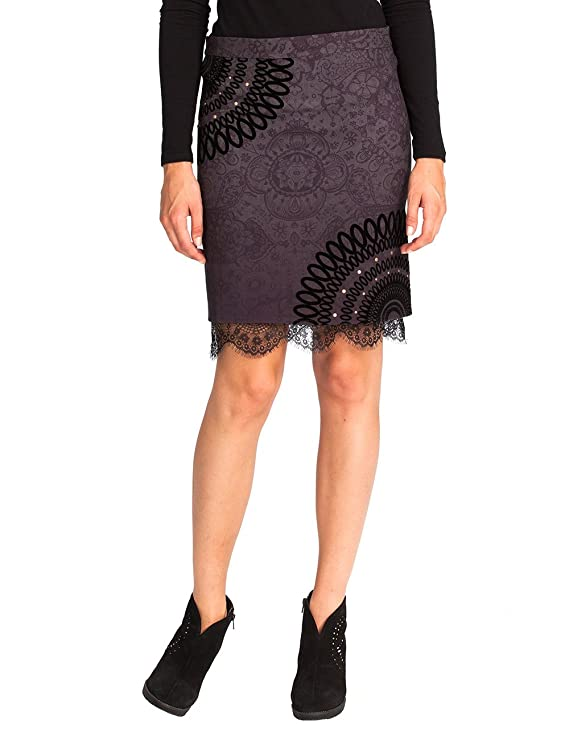 Desigual Women's Skirt Europa Sizes 36XS-42L