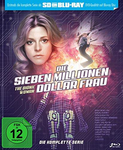 Die sieben Millionen Dollar Frau - Die komplette Serie - Mediabook  (SD on Blu-ray) [Edizione: Germania]