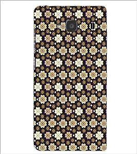 XIAOMI REDMI 2S FLOWER PATTERN Designer Back Cover Case By PRINTSWAG