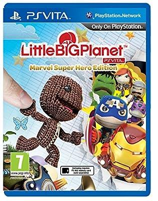 LittleBigPlanet Marvel Superhero's Edition (PlayStation Vita) by Sony