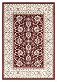 "Red And Beige Traditional Persian Oriental Design 8 by 10 Area Rug (7'10""X9'10"")"