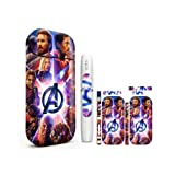 Skin Sticker Compatible for IQOS 2.4 Plus or Compatible Portable Charger | Holder with 2.5D Cartoon Design (Color: 2.4 Plus No.1876)