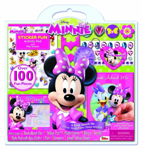 Bendon Minnie Mouse Activity Set (100-Piece)