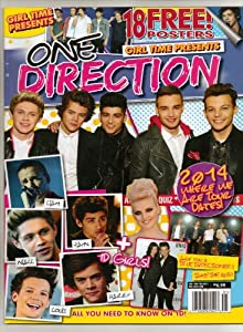 One Direction Girl Time Presents Magazine 10-2013 18 Free Posters! 2014 Tour Dates