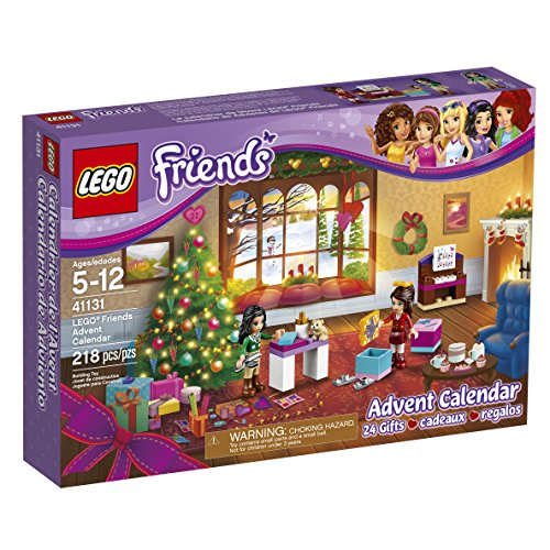 LEGO Friends 41131 Advent Calendar Building Kit (218 Piece) by LEGO