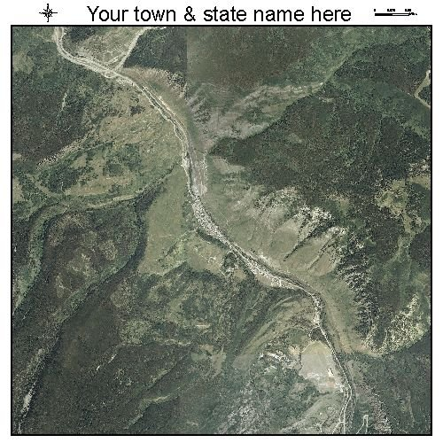 Aerial Photography Map of Minturn, Colorado