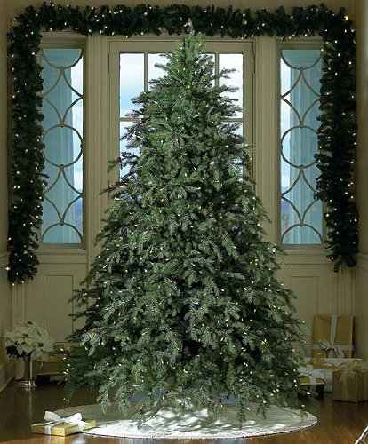 beautiful fake christmas tree