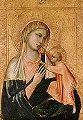 VIRGIN AND CHILD - Giotto di Bondone