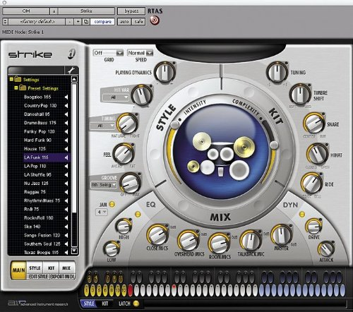 Digidesign Strike Virtual Drum Instrument
