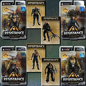 DC Direct RESISTANCE Action Figure set of 4