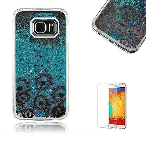 samsung-galaxy-s6-case-with-free-screen-protector-funyye-colourful-clear-transparent-sparkle-glitter