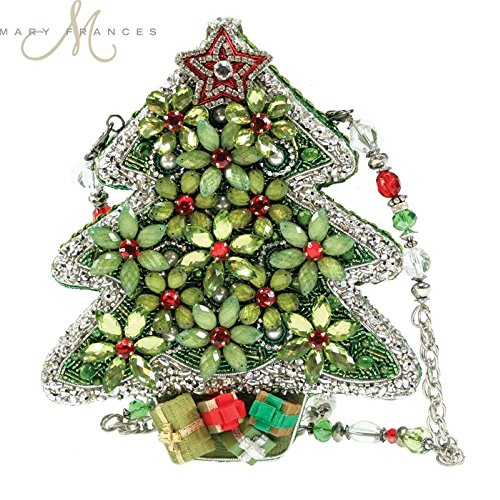 Mary-Frances-Handbag-Holiday-In-Bloom-Beaded-Jeweled-Christmas-Tree-Holiday-Shoulder-Bag