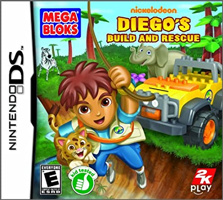 Mega Bloks Diego&#39;s Build and Rescue