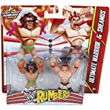 WWE Ultimate Warrior vs Sheamus Rumblers Figures