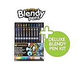 Chameleon 22 Pen Deluxe & Blendy Pens Jumbo Kit 24 Pens