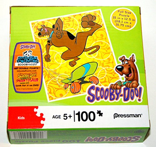 100 Pc. Puzzle Scooby Doo #10214 Skateboarding - 1