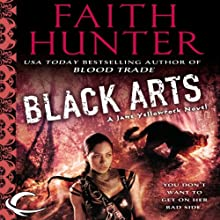 Black Arts: Jane Yellowrock, Book 7 (       UNABRIDGED) by Faith Hunter Narrated by Khristine Hvam
